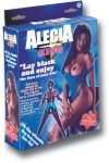 Alecia King PVC screening black Doll