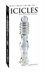 ICICLES HAND BLOWN GLASS MASSAGER