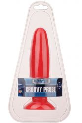 MENZSTUFF GROOVY PROBE RED